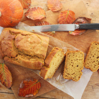 pumpkin and honey loaf cake