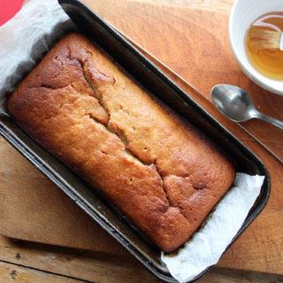 honey loaf cake