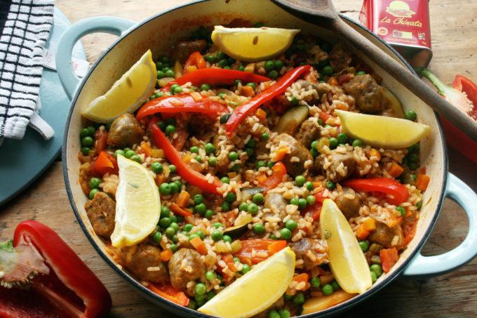 vegan paella