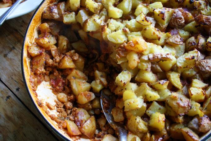 cottage pie hot pot