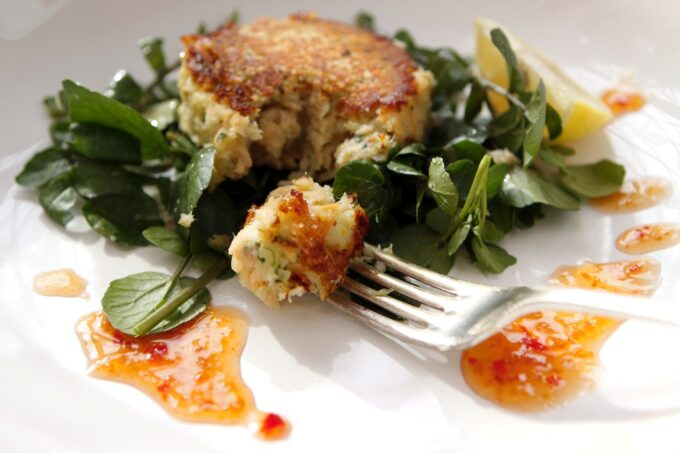 trout fish cakes