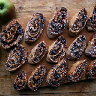 apple strudel biscuits