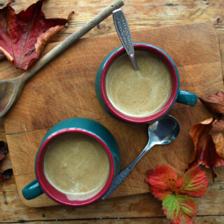 chestnut mushroom soup