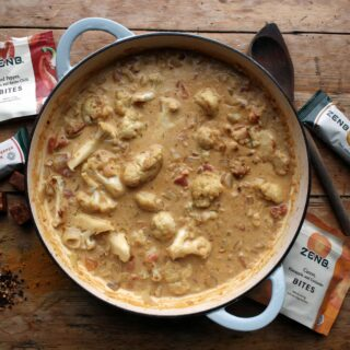 cauliflower curry with ZENB