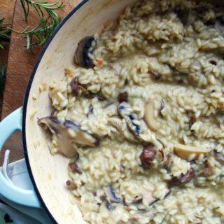 wild mushroom risotto