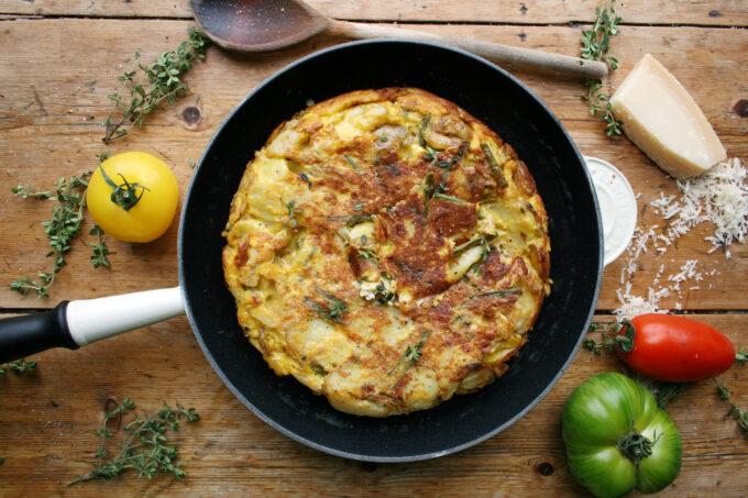 fennel tortilla