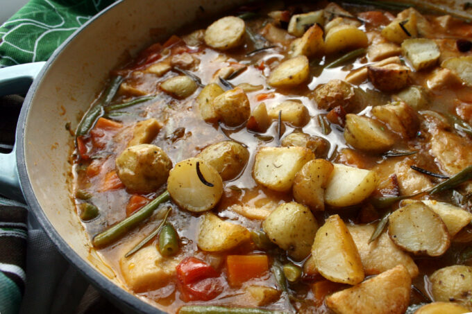 Sunday roast stew