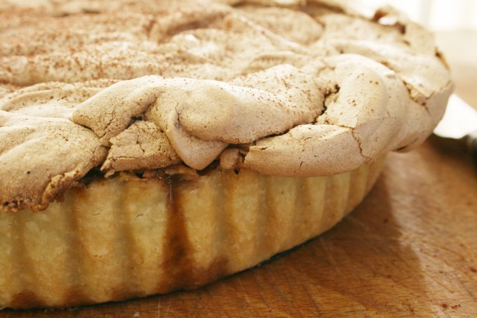 cchocolate truffle meringue pie