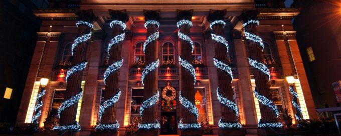 The Dome Exterior Christmas