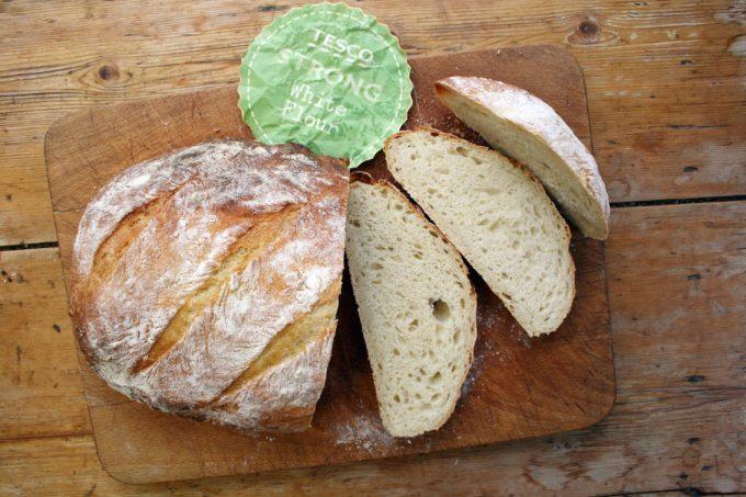 tesco white loaf