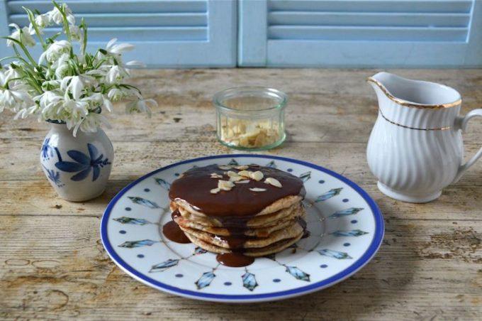 wholemeal spelt pancakes