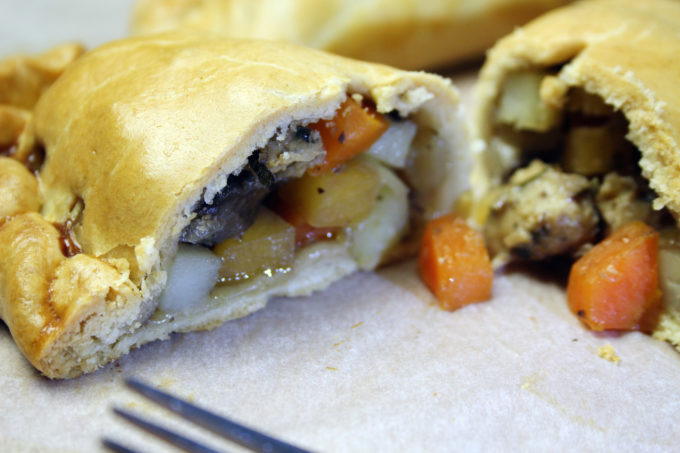 vegetarian cornish pasty