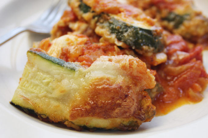 courgette parmigiana