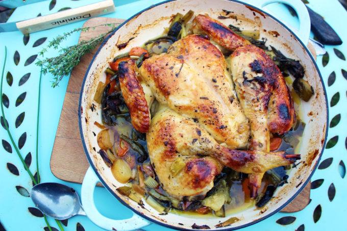 marmalade spatchcock chicken
