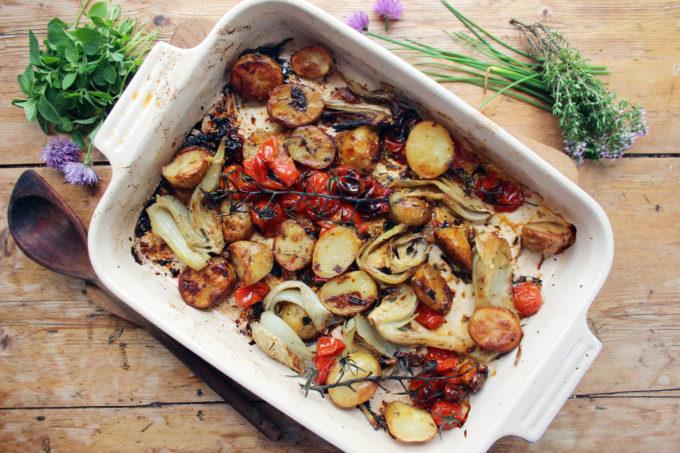 roast fennel